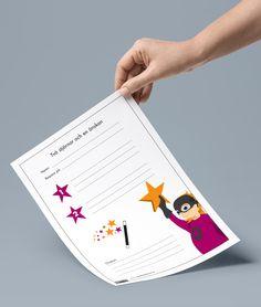 Ett formulär: two stars and a wish eller två stjärnor en önskan