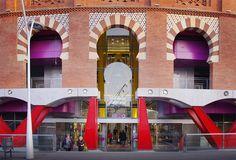 Entrance at Las Arenas (Barcelona Spain)