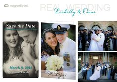 Photo Save the Date and military wedding