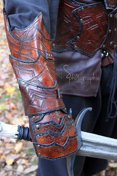 Bandit bracer by Feral-Workshop on deviantART