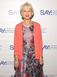 Star Tracks: Wednesday, May 4, 2016 |   FLOWER POWER    | Actress Helen Mirren is in the spring of things on Monday in New York City as she attends the 14th Annual Stuttering Association for the Young Benefit Gala.