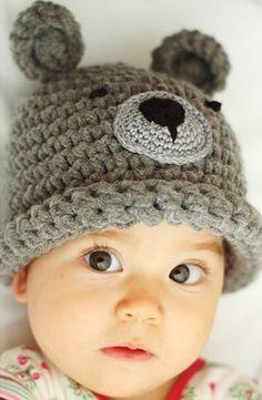 bonnet-4-195x300 fantaisie Bonnet Enfant Crochet, Bonnet Bébé Crochet,  Tricot Crochet 3f27e3284a9