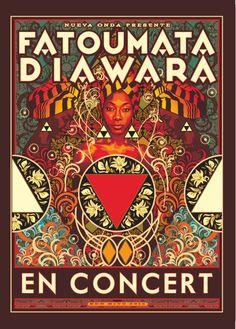 Fatoumata Diawara #concert #live