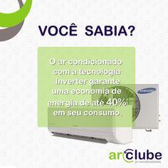 Curiosidade do dia!  Mais informações sobre a tecnologia Inverter, veja aqui: https://arclube.wordpress.com/  Eles estão disponíveis em nosso site, confira: www.arclube.com.br