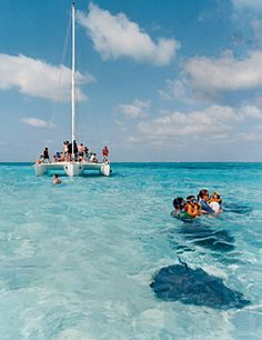 Grand Cayman to snorel with the rays
