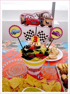 decoracion TEMA CARS - Google Search