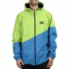 pánská bunda Funstorm CHARDEN aplle green Mens Outdoor Jackets, Rain Jacket, Windbreaker, Athletic, Outfits, Fashion, Athletic Style, Blue, Sports