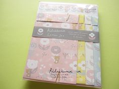 Photo1: Kawaii Cute Letter Set San-x *Rilakkuma (LH 52101)