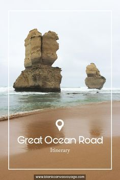 Tips & Recommendations on how to explore the Great Ocean Road. Victoria most scenic drives, the Great Ocean Road is a magnificent touring route that is worth a visit while exploring Australia. Read More: http://blankcanvasvoyage.com/australia/great-ocean-road-itinerary/
