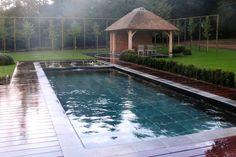 Realisaties zwemvijvers - hybride zwembaden