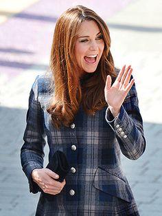 Kate's Giddy Greeting | Kate Middleton