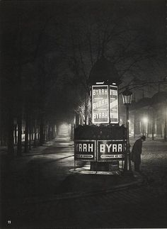 Paris de Nuit 1933