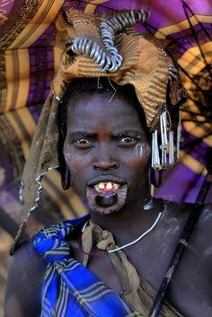 """"""" Ethiopie: ethnies de la vallée de l'Omo; les Mursi by claude gourlay on Flickr. """""""