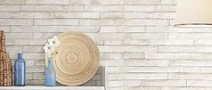 London White Wall Tile - simple and elegant but not something you see every day, also I think it will give a bathroom an extra special touch London Brick, London Wall, White Wall Tiles, Brick Tiles, On The High Street, Kitchen Tiles, Oasis, Floors, Textiles