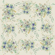 inks+thread spring patterns