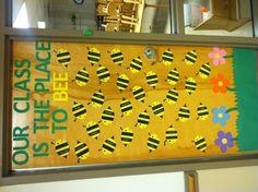 For bulletin board or door at the end of the hall Kindergarten Door, Preschool Door, Kindergarten Bulletin Boards, Spring Bulletin Boards, Classroom Bulletin Boards, Preschool Education, Classroom Door, Classroom Ideas, Preschool Projects