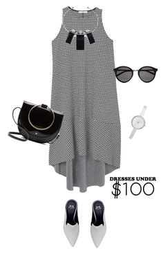 """""""outfit 6056"""" by natalyag ❤ liked on Polyvore featuring MANGO, Alexis Bittar, Yves Saint Laurent and DKNY"""