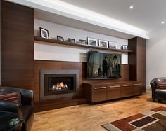 Let the Sun Shine In - contemporary - media room - ottawa - Design First Interiors
