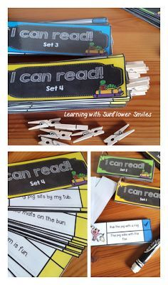 CVC Fun on the Way to School - CVC Sentence cards that practice fluency and comprehension while building reading confidence. - Learning with Sunflower Smiles