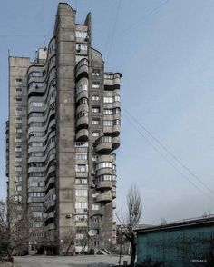Gallery of Socialist Modernism on Your Smartphone: This Research Group is Raising Funds for a Crowdsourcing Mobile App - 42 Russian Architecture, Futuristic Architecture, Landscape Architecture, Architecture Design, Concrete Architecture, Brutalist Buildings, Modern Buildings, Brutalist Design, Concrete Building
