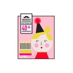 Snorgids voor vrouwen van 40+ - Uitgeverij Snor - BijzonderMOOI* - Dutch design