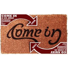 Reversible Doormat now featured on Fab.
