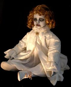 pictures of altered porcelain dolls   Macabre Art by D.L. Marian