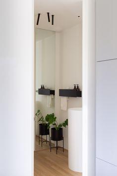 Agi Architects, Oversized Mirror, Interior Design, Furniture, Bathroom, Home Decor, Design Projects, Apartments, Architects