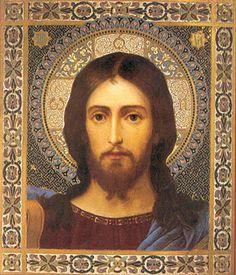 Christ icon.  Volto