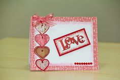 Handmade Card for Valentine's Day By Ana Perez