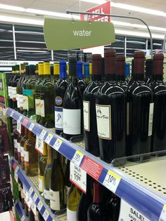 DAMNET JESUS! Sometimes I just want my water to be water!