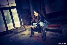 Glamourshooting in einer alte Fabrik | Portrait | Glamour | Glamourfotografie | Fotograf Oberösterreich | Peoplephotography Alter, Goth, Glamour, Portrait, Style, Fashion, Photo Shoot, Ideas, Gothic
