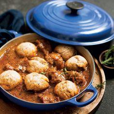 Taste Mag | Oxtail stew with dumplings @ https://taste.co.za/recipes/oxtail-stew-with-dumplings/