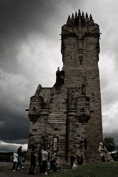 Not a place to test your claustrophobia and fear of heights.  Ask me how I know.  The National Wallace Monument in Stirling, Scotland