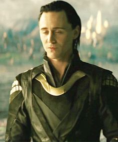 Loki (GIF) sighhhhh, He's so cute when he's thinking, or worried. I don't know and don't care, HE'S SO CUTE!
