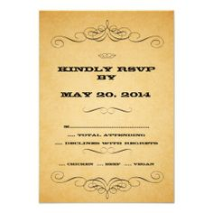 >>>Low Price          Vintage Country Wedding RSVP Swirls Personalized Invitations           Vintage Country Wedding RSVP Swirls Personalized Invitations We have the best promotion for you and if you are interested in the related item or need more information reviews from the x customer who ar...Cleck Hot Deals >>> http://www.zazzle.com/vintage_country_wedding_rsvp_swirls_invitation-161269813427336784?rf=238627982471231924&zbar=1&tc=terrest