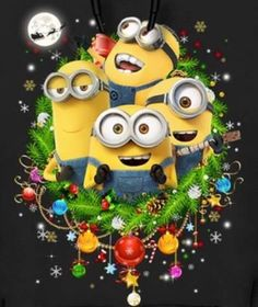 Frohe Weihnachten Minions.Die 36 Besten Bilder Von Minions Weihnachten In 2018 Minions