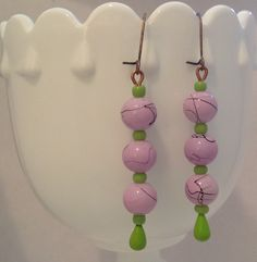 Lavender Puffy Puffs...  By Mixed Media Baubles, 04.16.2013, artist's copyright