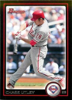 2010 Bowman Baseball Card # 90 Chase Utley - Philadelphia Phillies - MLB Trading Card by Topps. $2.22. 2010 Bowman Baseball Card # 90 Chase Utley - Philadelphia Phillies - MLB Trading Card