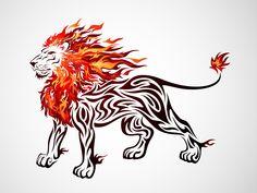 Heart of a lion tattoo?