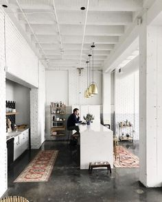 how can we make a kitchen look like a coffee shop? ....asking for a friend