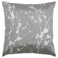 Find product information, ratings and reviews for Gray/Silver Polyester Satin With Foil Print Throw Pillow - Rizzy Home online on Target.com.
