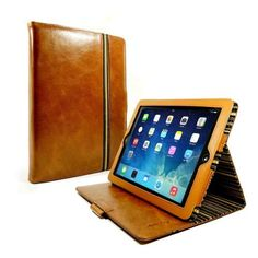 Moxie Style Ltd - Vintage Genuine Leather Slim-Stand Case Cover for Apple iPad Air - Brown, Delivered. £79.95 (http://www.moxie-uk.co.uk/vintage-genuine-leather-slim-stand-case-cover-for-apple-ipad-air-brown/)