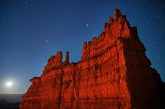 Moonrise at Bryce Canyon National Park