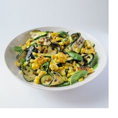 Grilled Zucchini and Corn Salad