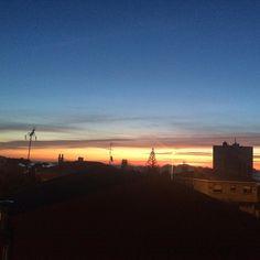 Otro día que termina... #Atardecer #sunset en Vigo