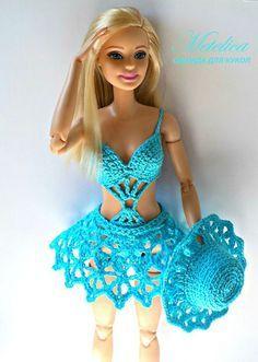 Roupas para Barbie - 12 fotos | VK
