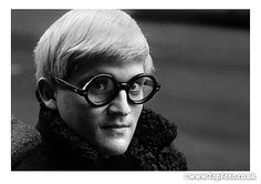 David Hockney photographed by Jane Bown , 1966