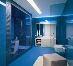 Blue bathroom theme ideas