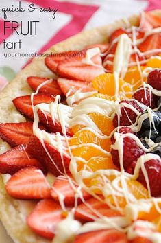 quick and easy fruit Tart